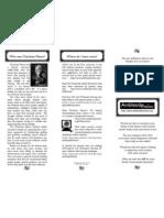 Ambleside Online Brochure 2008 Double-sided Tri-fold