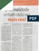 Reportagem sobre Crimes Virtuais - Hoje em Dia
