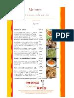 primi piatti cucina italiana Kcal