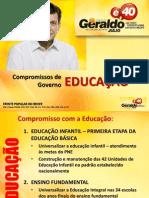 Propostas para a educação no Recife