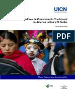 Indicadores de conocimiento tradicional UICN
