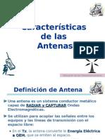 1 Caracter Sticas de Las Antenas
