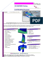 NX Nastran Advanced Simulation Processes