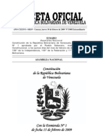 Constitucion de La Republica Con Enmienda[1]