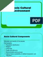11 Socio cultural (Chap. 7).ppt