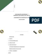 Vacunacion Universal 2009 Lineamientos Dic-08[1]