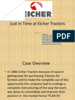 Just in Time at Eicher Tractors (GRP 2)