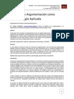 Teoría de la Argumentación como Epistemología Aplicada