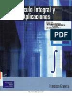 Cálculo Integral y Aplicaciones [Francisco Granero]