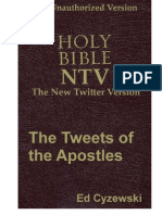 The Tweets of the Apostles