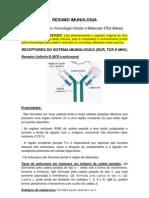 2 - Resumo Receptores Do Sistema Imunologico (Bcr, Tcr e Mhc)