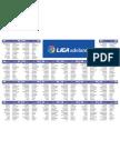 Calendario Liga Adelante 12/13