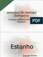 Seminário de Geologia Econômica