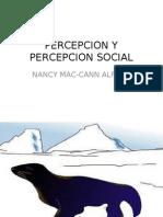 Percepcion y Percepcion Social