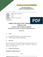 1 UNI-FIA-MIH Clase 11 Modelación Estocástica SAMS 14 Jul 2012