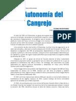 La Autonomia Del Cangrejp