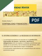 Materia Contabilidad Financiera I 1 Unidad