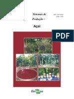 Livro - Açaí (EMBRAPA 2005)