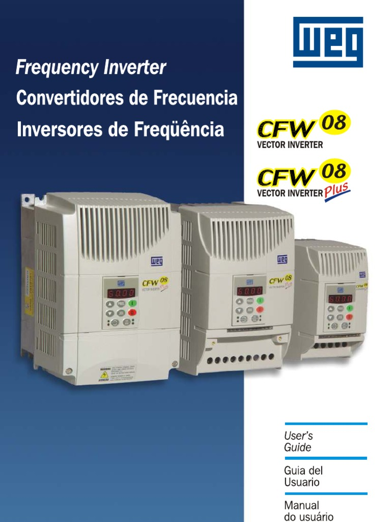 weg manual cfw 08 power inverter power supply rh scribd com manual inverter weg cfw 08 plus White Calcium Fluoride