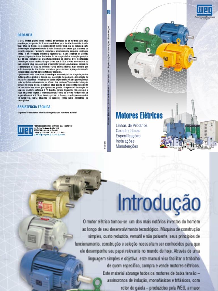 Weg manual de motores fandeluxe Images