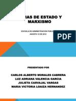CUARTA EXPOSICIÓN, TEORÍA MARXISTA Y FORMAS DE ESTADO