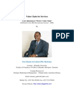 Value Chain for Services