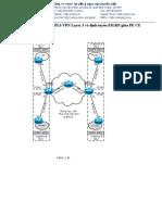 Lab 1.8 Cấu hình MPLS VPN Layer 3 và định tuyến EIGRP giữa PE-CE