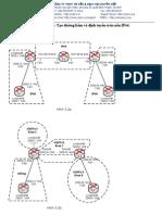 Lab 5.2 Tạo đường hầm và định tuyến trên nền IPv6