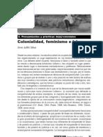 Colonialidad Feminismo e Islam