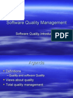 NOTES Software Quality Management