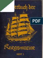 Liederbuch Der Kriegsmarine Heft 3 (1940, 33 Doppels., Scan, Fraktur)
