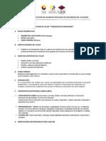 Ejemplo de la Planificaciín Didáctica