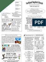 PBC Bulletin - August 19