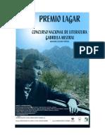 PREMIO LAGAR, Bases Del Concurso.