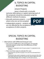 Capital Budgeting a