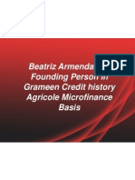 Beatriz Armendariz – Founding Person in Grameen Credit history Agricole Microfinance Basis