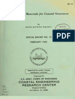Construction Materials for Coastal Structures