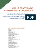 Guias clinicas y protocolos de urgencias