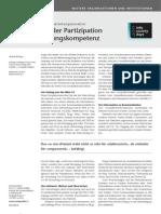 ePatients - eine vernetzte Patientengeneration. Neue Formen der Partizipation und Entscheidungskompetenz