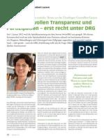 ePatients wollen Transparenz und Partizipation – erst recht unter DRG