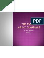 The Twelve Great Olympians