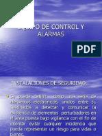 Equipo de Control y Alarmas
