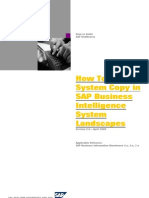 How to System Copy in SAP Business Intelligence System Landscapes (NW2004)