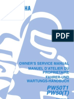 Pw50 Owners Manual