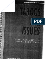 Taboos & Issues 1 of 2