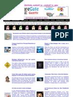 Weekend Edition - August 13 to August 17, 2012 - ForeclosureGate Gazette