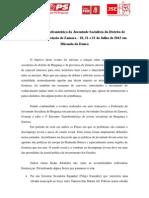 4º encontro transfronteiriço - comunicado bilingue [Português e Mirandês]