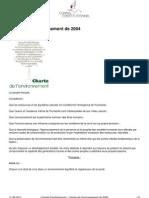 191 charte environnement