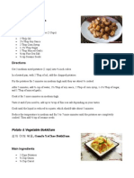 Korean Recipes Short Version