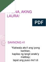 Halina, Aking Laura!
